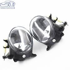 Clear Lens Fog Light Bumper Driving Lamp+Bulb for 2009-2012 AUDI A4 S4 B8 SEDAN