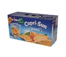 Capri-Sun Jus d'Orange Boisson Pochette Allergène Gratuit 10 x 200 ml BRAND NEW