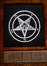 Pentagram Patch - Punk Leftover Crack Occult Gothic Satan Metal satanic baphomet