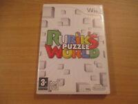 jeu wii rubik's puzzle world
