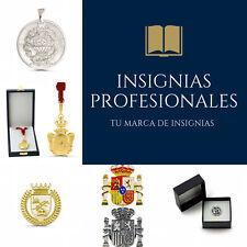 Insignias Profesionales Plata Chapada