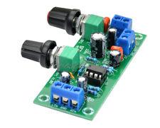12V-24V Low-Pass Filter NE5532 Bass Tone Subwoofer Pre-Amplifier Preamp Board DG