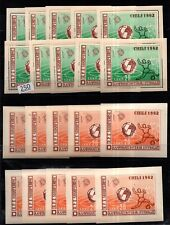 # 10X ALBANIA 1962 - MNH - PERF+IMPERF - SOCCER - CHILE