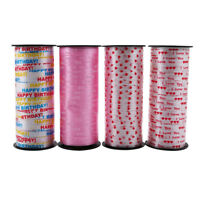 100yards Gift Box Package Wrapping Tape Balloon String Tie Curling Ribbon Decor