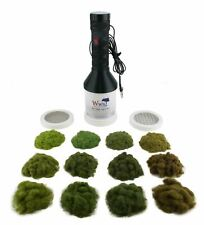 More details for wws pro grass grand static grass applicator four seasons kit – railway wargames