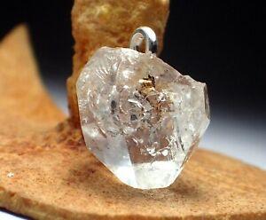925 Sterling Silver Jewelry Natural Amazing Herkimer Diamond Gemstone Pendant