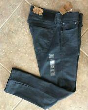 Polo Ralph Lauren Varick Slim Straight Stretch Jeans Mens 34 x 34 Grey Denim NWT