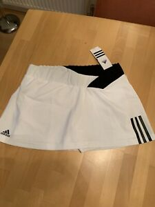 Ladies Adidas Tennis Skort with labels in black and white - size medium