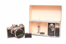 Photavit subminiature camera with Xenar f/3.5 - 37,5mm with original box and ...