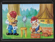 Jouet kinder puzzle 2D Nains de métier n°1 Allemagne 1993 + étui