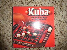 "KUBA 'THE PUSH TO PLAY STRATEGY GAME"" , 2 Players, Ages 10+, #7343, 1997"
