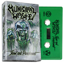 Municipal Waste Slime And Punishment  GREEN CASSETTE TAPE Thrash Metal SEALED