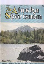 The Alaska Sportsman OCTOBER 1944-MAROONED IN THE ARCTIC LAGOON