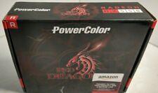PowerColor AMD Radeon RX 550 Red Dragon Graphics Card 4GB