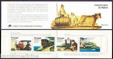 Portugal 1984 Booklet, Traditional Transport, Hill Car, Doli, Coaster, Borrachei