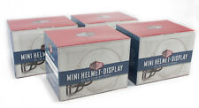 NEW Ballqube Mini Football Helmet Display Case Box (4 Pack)