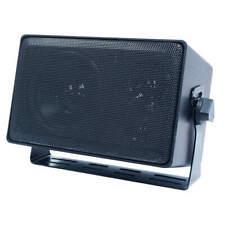 SPECO TECHNOLOGIES DMS3TS 3-Way Indoor/Outdoor Speaker,4 In,Black