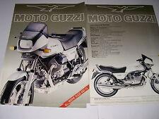Moto Guzzi T5 850    _brochure-depliant-prospekt   italiano  ANNI 80