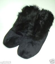 Style /& Company Slippers Scuffs With Faux Fur Trim ~ Size XL ~ NWT 11//12