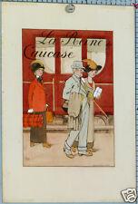 GASTON-PIERRE GALEY DESSIN ORIGINAL LAVIS - LA REINE DU CAUCASE ci1920