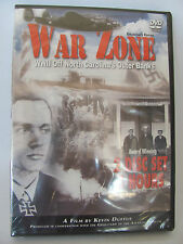 War Zone: WWII Off North Carolina's Outer Banks NEW UNOPENED DVD Collector's Ed.