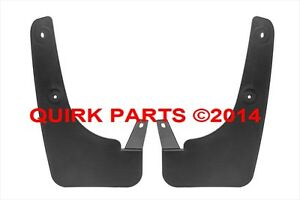 2004-2007 Nissan Armada Front Set Mud Flap Splash Guard OEM NEW Genuine