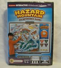 "LAKESHORE INTERACTIVE SOFTWARE GAMES COMPUTER ""HAZARD MOUNTAIN"" GRADES 4-6 NIB"
