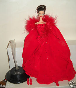 #8423 New Displayed Mattel Ferrai Designer Barbie Doll