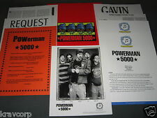 POWERMAN 5000 'MEGA! KUNG FU RADIO' 1997 PRESS KIT—PHOTO