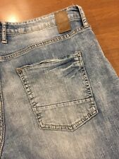 Buckle DepartWest Jeans Drifter Light Wash Stretch Straight Leg flex 34 X 30