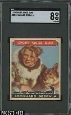 "1933 Goudey Sport Kings #48 Leonhard Eppala SGC 8 "" IMPOSSIBLE LAST CARD """