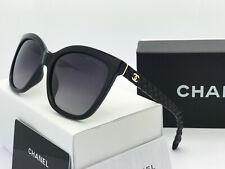 Sunglasses-Polarized2@¹Chanel&¹  Black/Black Gold Logo Iridium
