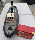 Vintage Balsa Kit Cervia Harbor Tugboat Model, Saito, Japanese, W/work Steam eng