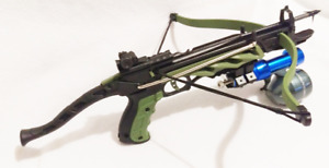 80 lbs  FISHING CROSSBOW WITH MORRIS 80 BOLT AND FISHING REEL.