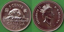 1999 Canada Nickel Graded as Specimen From Original Set