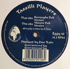 """12"""" Maxi-Single von: Tassilli Players mit dem Titel: Burroughs Dub / Waroni Dub"""