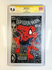Spider-Man 1 CGC 9.6 Signed by Todd McFarlane Silver Edition