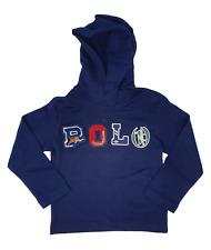 Ex Ralph Lauren Polo Kids Hoodie T shirt Top Long sleeved age 2 upwards NEW