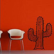 Wall Decal Vinyl decor Cactus Plant Flower Africa Barb Desert Bedroom M1117