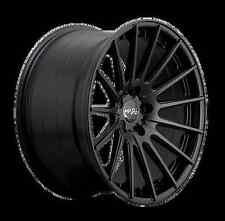 19X8.5 +35 19X10 +40 MIRO 110 5X114.3 BLACK RIM Fit ACURA TL G35 G37 STAGGERED