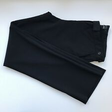 "Theory ""Bergdorf Goodman"" Black Stretch Wool Dress Pants, AU Size 12 / US 8"