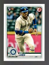 2020 BOWMAN #78 KYLE LEWIS RC QTY SEATTLE MARINERS