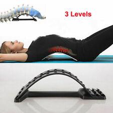 Uc Back Support Stretcher Extender Posture Massager Chiro Lumbar Pain Relief