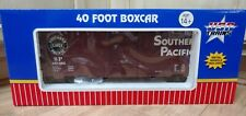 New ListingUsa Trains G Scale Southern Pacific 40 Foot Box Car R19202A #651666 Mint Cond.
