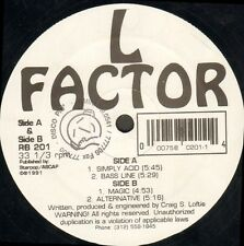 L FACTOR - Simply Acid - rhythm beat - RB 201 - Ita
