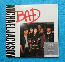 "Michael Jackson Dual Disc "" BAD "" Visionary  Video  CD DVD"