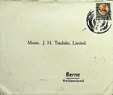 THAILAND SIAM 25 STG ON NICE COVER TO SWITZERLAND - N44537