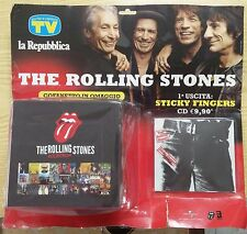 Rolling Stones Collections N. 1 Mondadori Cd  Sticky Fingers blisterato + box