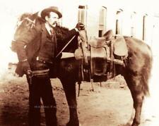 WYATT EARP c1890 RARE PHOTO GUNFIGHTER LAWMAN SHERIFF GAMBLER DODGE CITY 20553