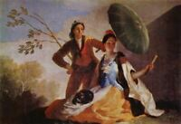 Famous Artwork Theme Cleaning Cloth 'The Parasol' by Goya